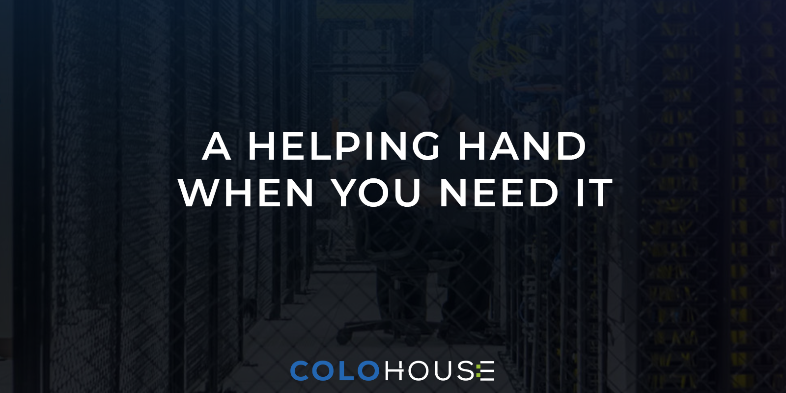 blog title: a helping hand when you need it