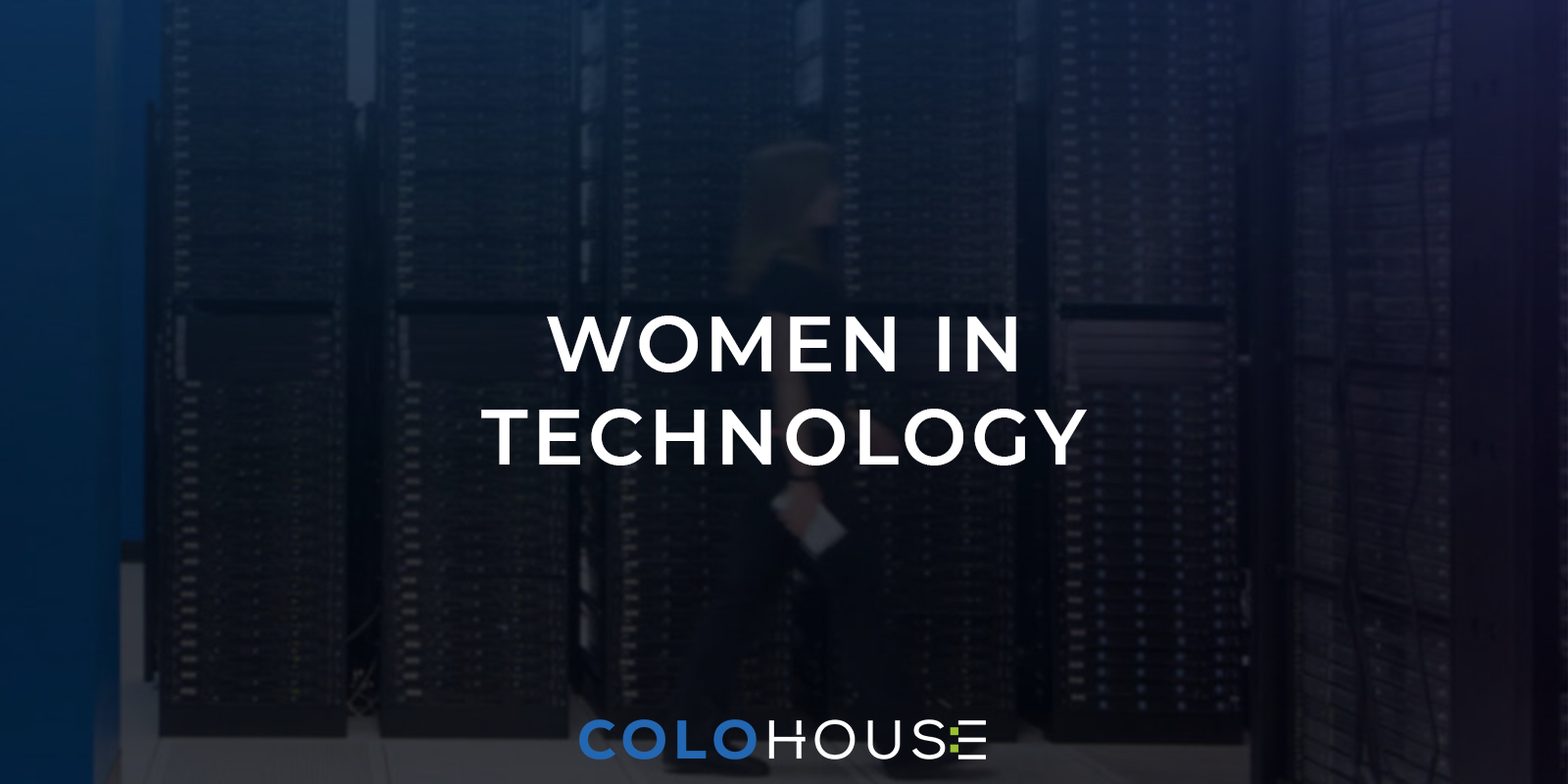 blog title: women in technology