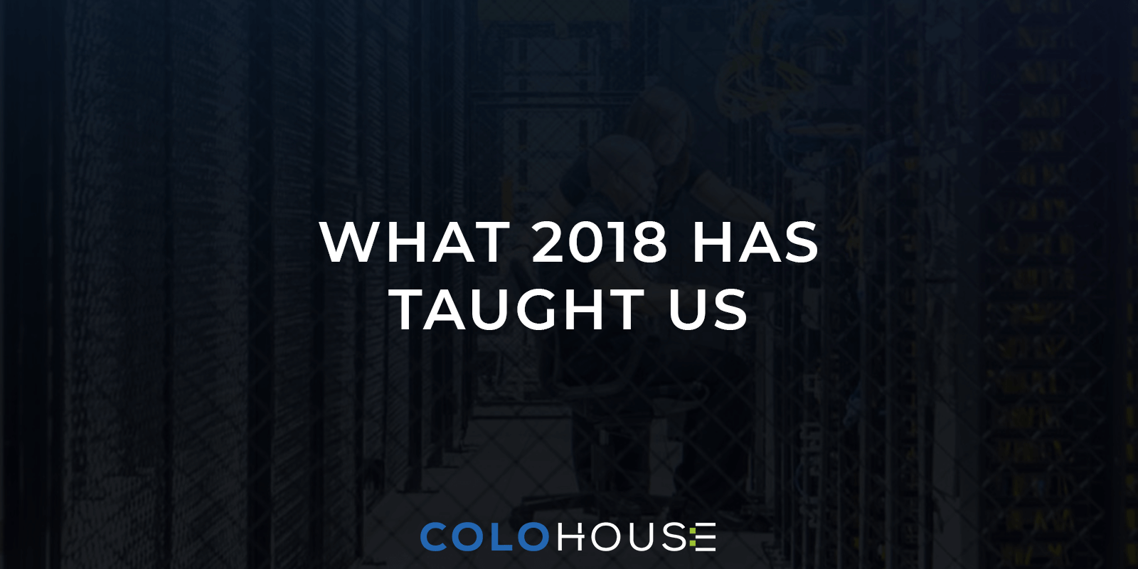blog title: what 2018 has taught us