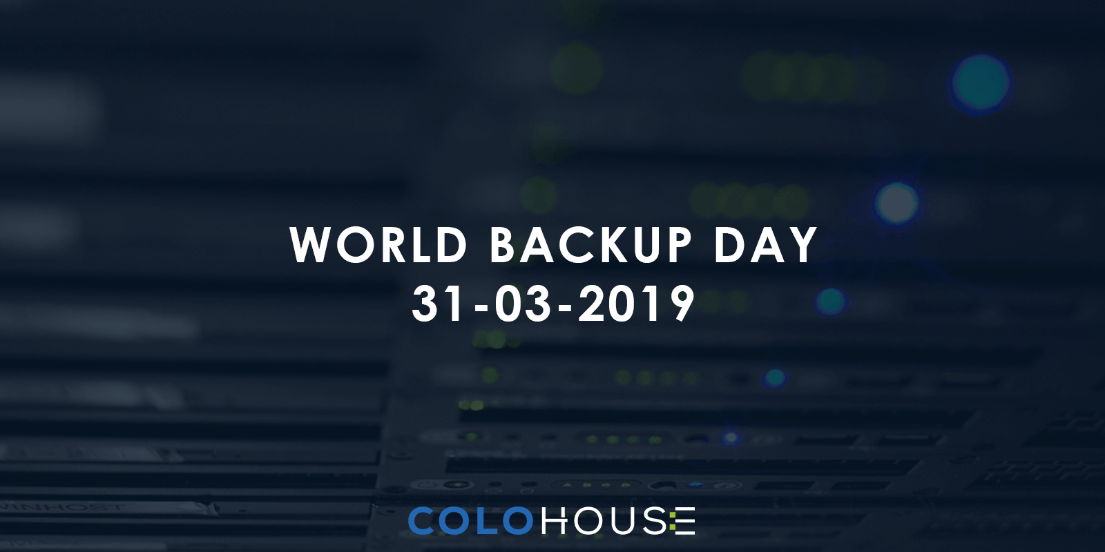 Blog header: World Backup Day 31.03.2019
