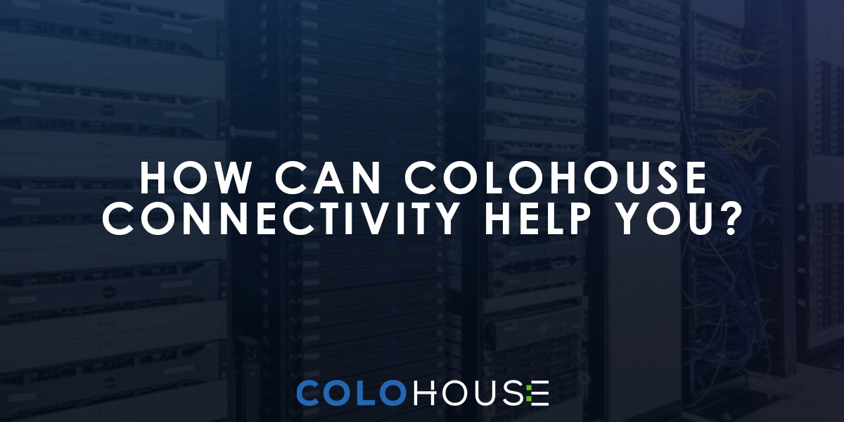 Blog header: How can ColoHouse connectivity help you?