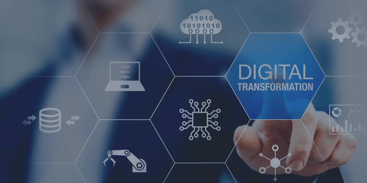 BLOG HEADER WITH CAPTION: digital transformation